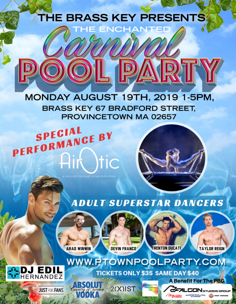 Provincetown Pool Party